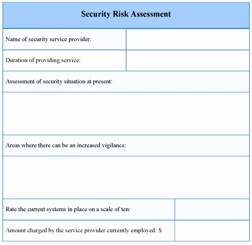 Engineering Test Report Template Unique 9 Engineering Risk assessment Template Tuywi