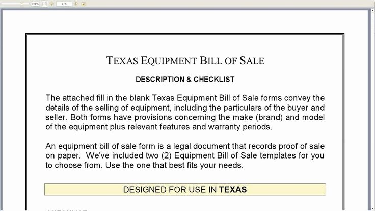 Equipment Bill Of Sale Template Luxury 895 Best Images About Line attorney Legal forms On