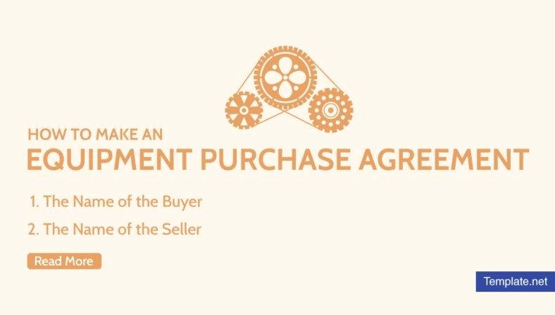 Equipment Purchase Agreement Template Luxury How to Make An Equipment Purchase Agreement