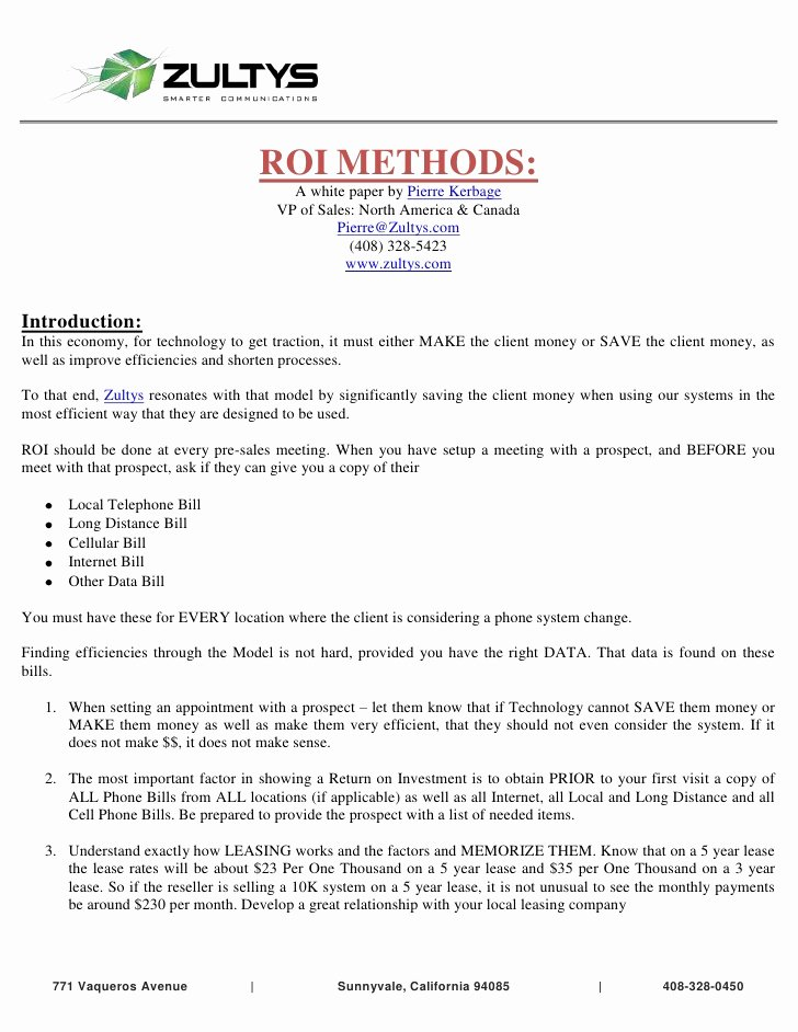 Equipment Purchase Proposal Template Awesome 10 Of Voip Proposal Template