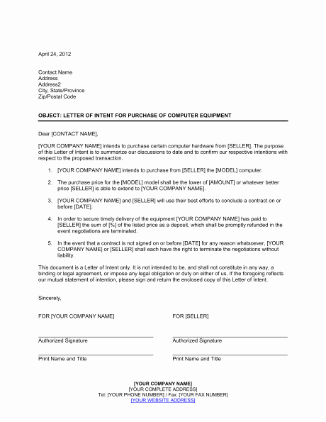 Equipment Purchase Proposal Template New Equipment Purchase Proposal Template