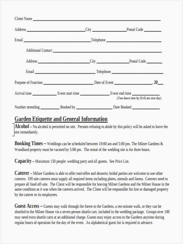Event Planner Contract Template Best Of 5 event Planner Contract Template 14