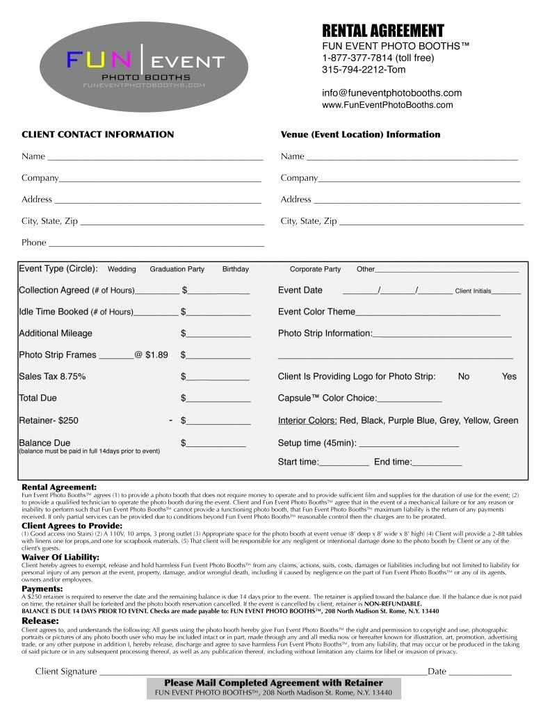 Event Planner Contract Template New Party Planner Contract Template Google Search