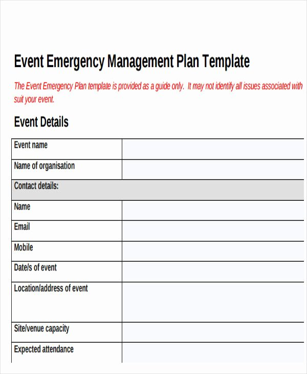 Event Planning Template Pdf Fresh 19 event Plan Templates In Pdf