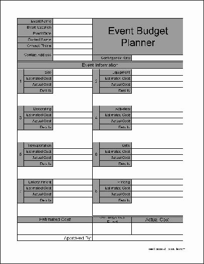 Event Planning Template Pdf Unique event Planner Template Free Download – Planner Template Free
