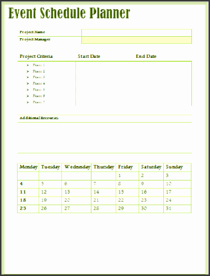 Event Program Template Word Awesome 9 Easy to Use event Program Template Sampletemplatess