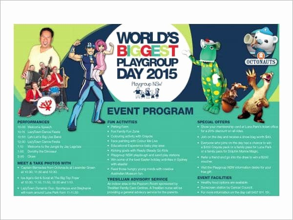 Event Program Template Word Fresh 10 event Program Templates Word Excel Pdf formats