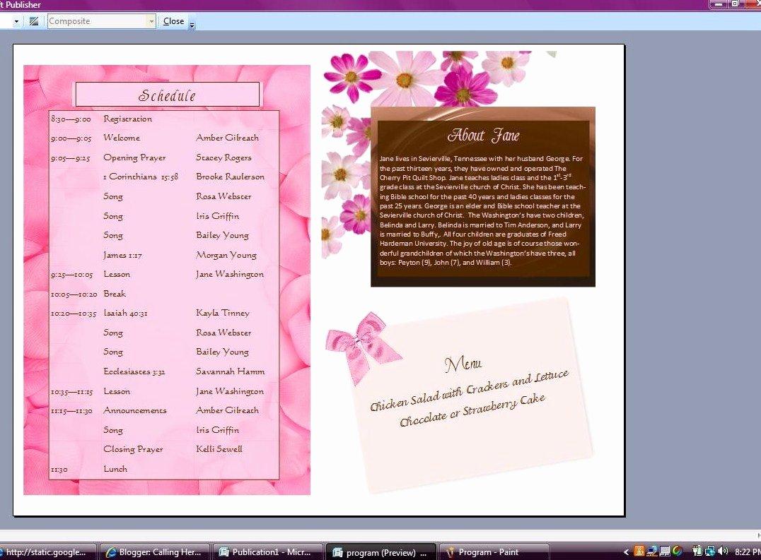 Event Program Template Word Luxury Creating A event Program In Word Developerstweet