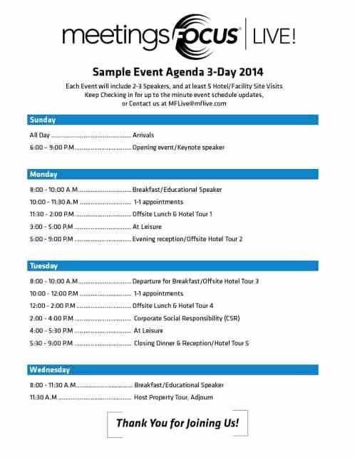 Event Program Template Word Unique 10 event Program Template Free Download Word Excel Pdf