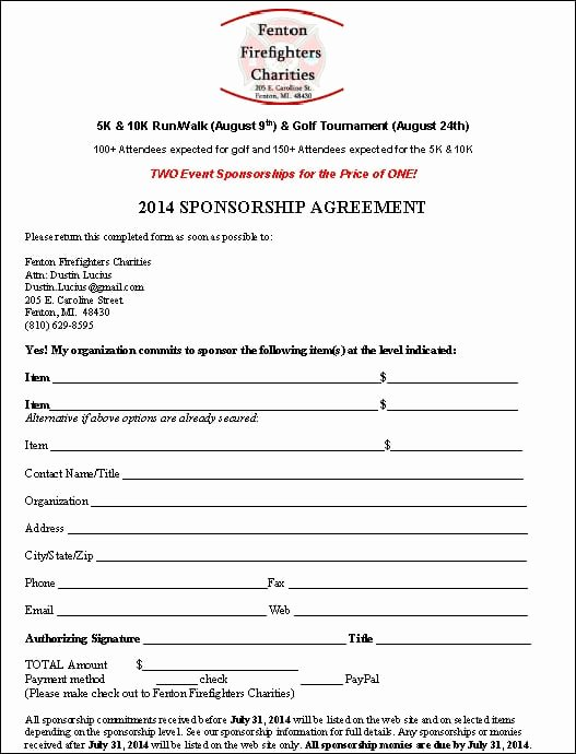Event Sponsorship Agreement Template Elegant top 5 Resuorces to Get Free Sponsorship Agreement