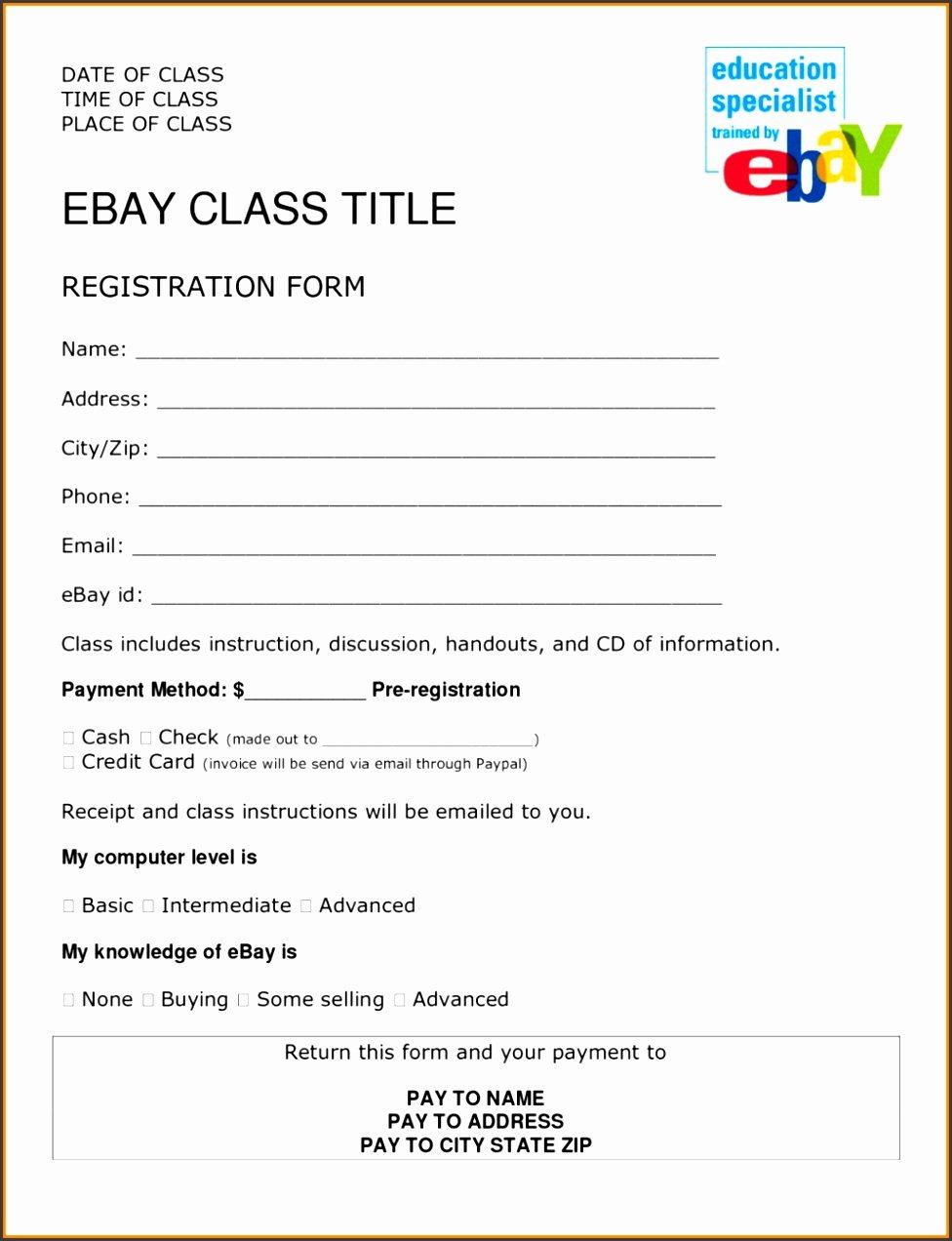 Event Vendor Application Template Fresh 6 event Vendor Registration form Template