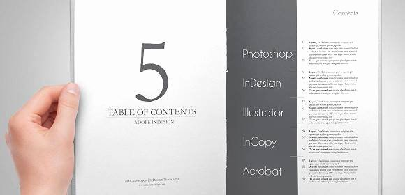 Excel Table Of Contents Template Best Of 10 Free Table Of Content Templates – Pdf Word Excel