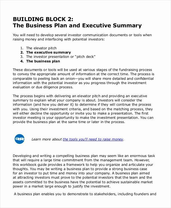 Executive Summary Template Pdf Fresh Executive Summary Template 8 Free Word Pdf Documents