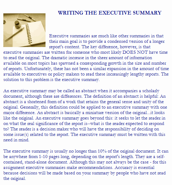 Executive Summary Word Template Lovely 43 Free Executive Summary Templates In Word Excel Pdf