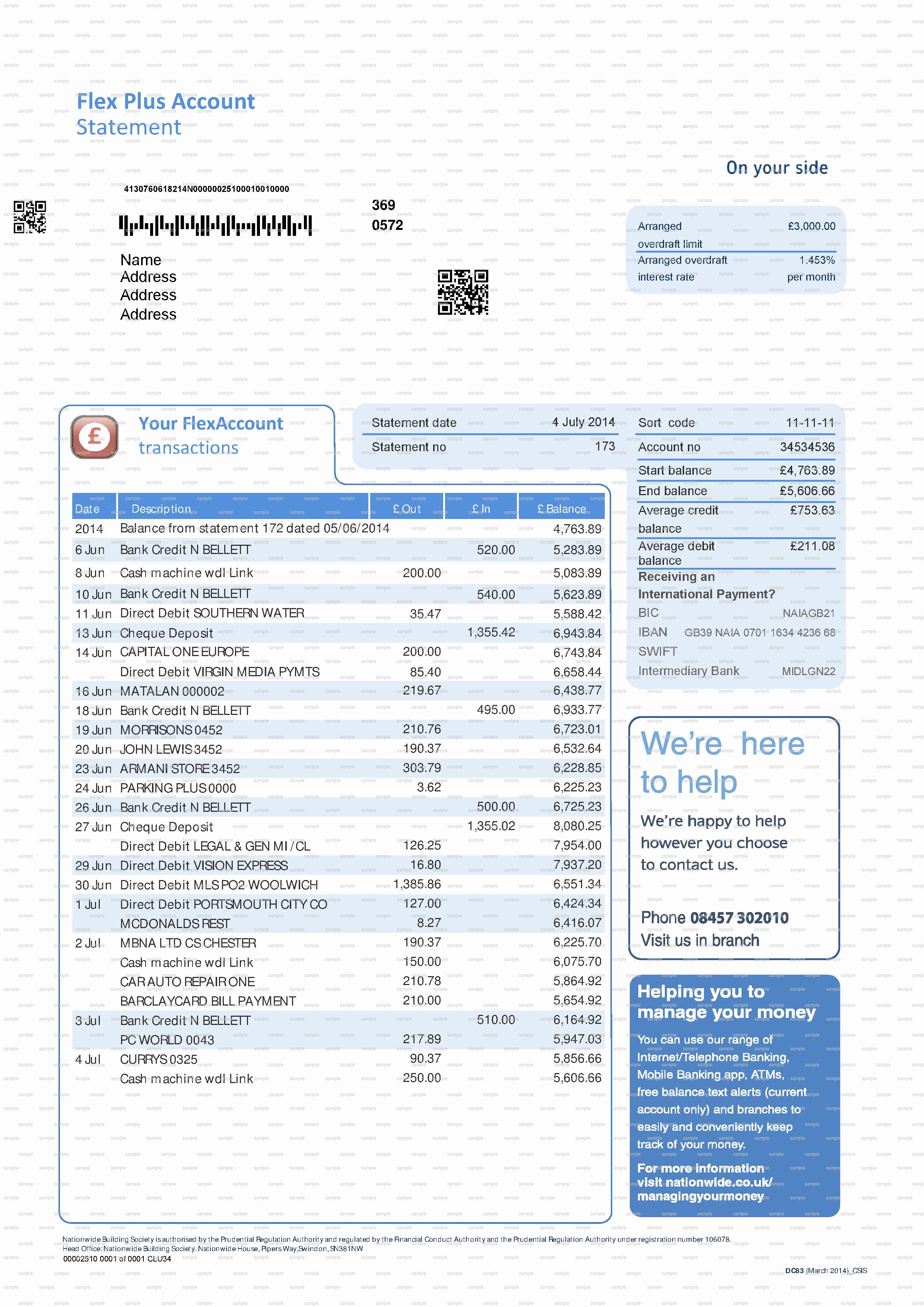 Fake Bank Statement Template Awesome Fake Documents Fake Bank Statements Fake Utility Bills