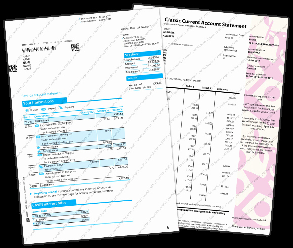 Fake Bank Statement Template Lovely Fake Bank Statement & Novelty Bank Statement Templates