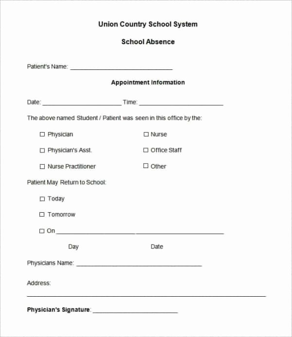 Fake Doctor Note Template Unique Fake Doctors Note Template – 27 Free Word Pot Pdf