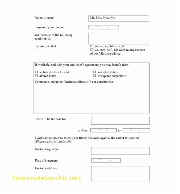 Fake Doctors Note Template Elegant Free Fake Doctors Note Template Download – Impressive