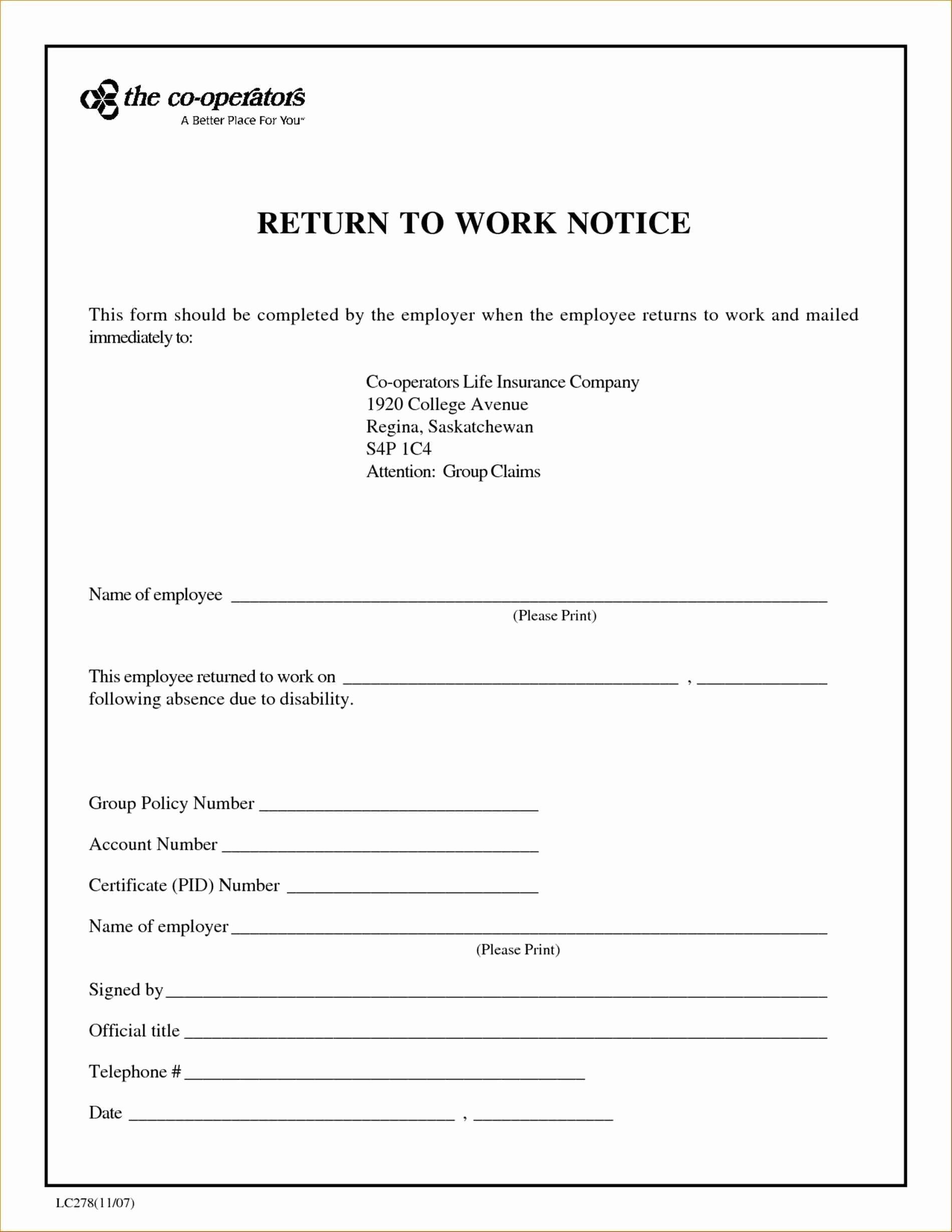 Fake Doctors Note Template Pdf Luxury Return to Work Doctors Note Template