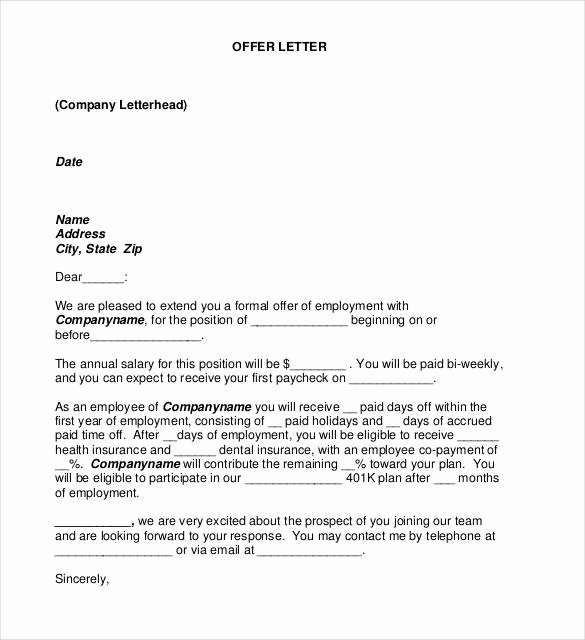 Fake Job Offer Letter Template Beautiful 25 Of Prank Meeting Letter Template