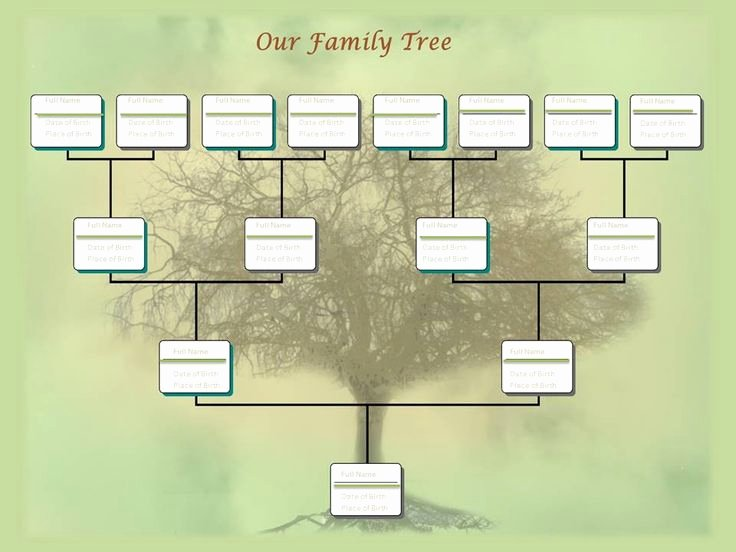 Family Tree Template Editable New 20 Best Free Family Tree Templates Images On Pinterest