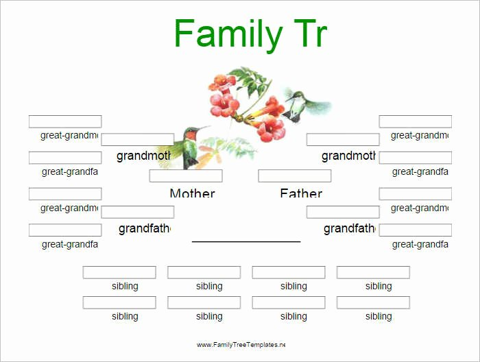 Family Tree Template Free Editable Elegant Editable Family Tree Template