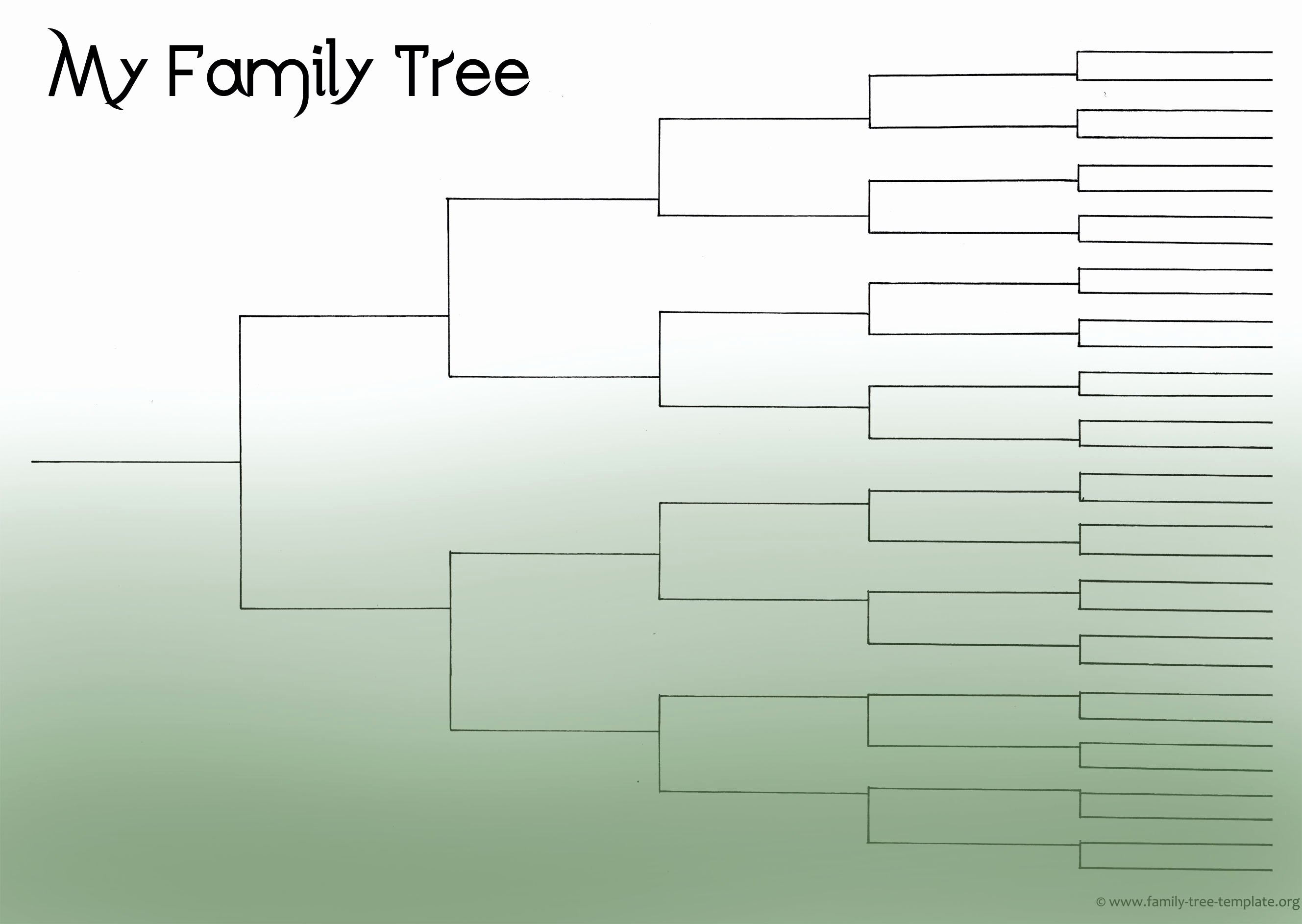 Family Tree Template Free Editable Fresh Blank Family Tree Template