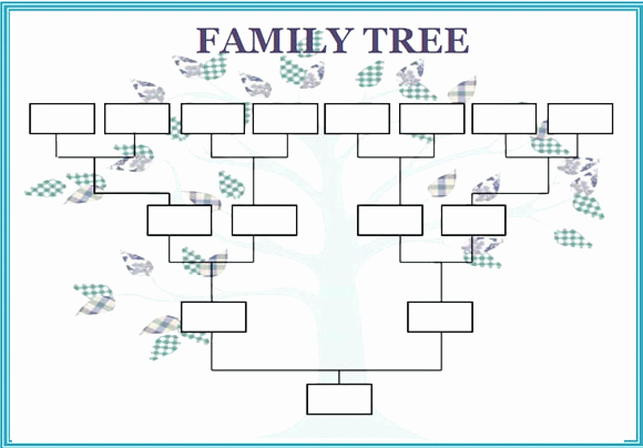 Family Tree Template with Siblings Fresh 12 13 Family Tree Spreadsheet Template