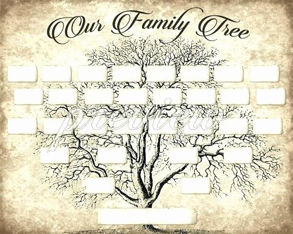Family Tree Template with Siblings Inspirational Bostick Archives Family Found Genealogy