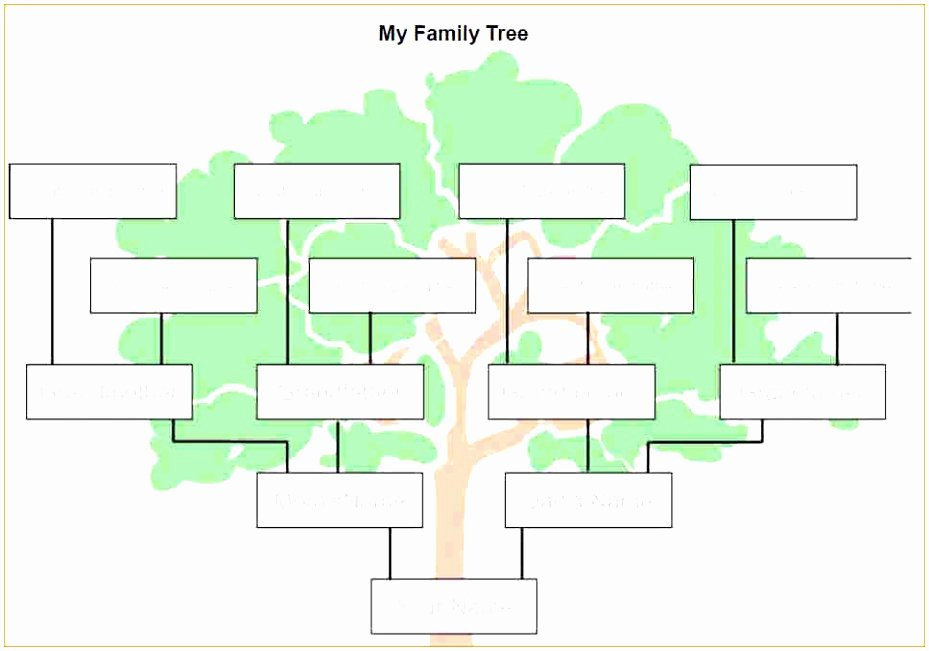 Family Tree Template Word Best Of 9 Microsoft Word Family Tree Template Free Uwepa