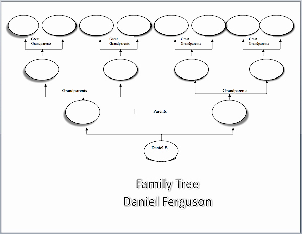 Family Tree Template Word Elegant Make A Family Tree