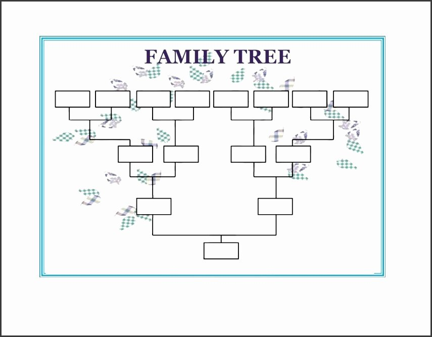 Family Tree Template Word Fresh 10 Family Tree Word Template Sampletemplatess