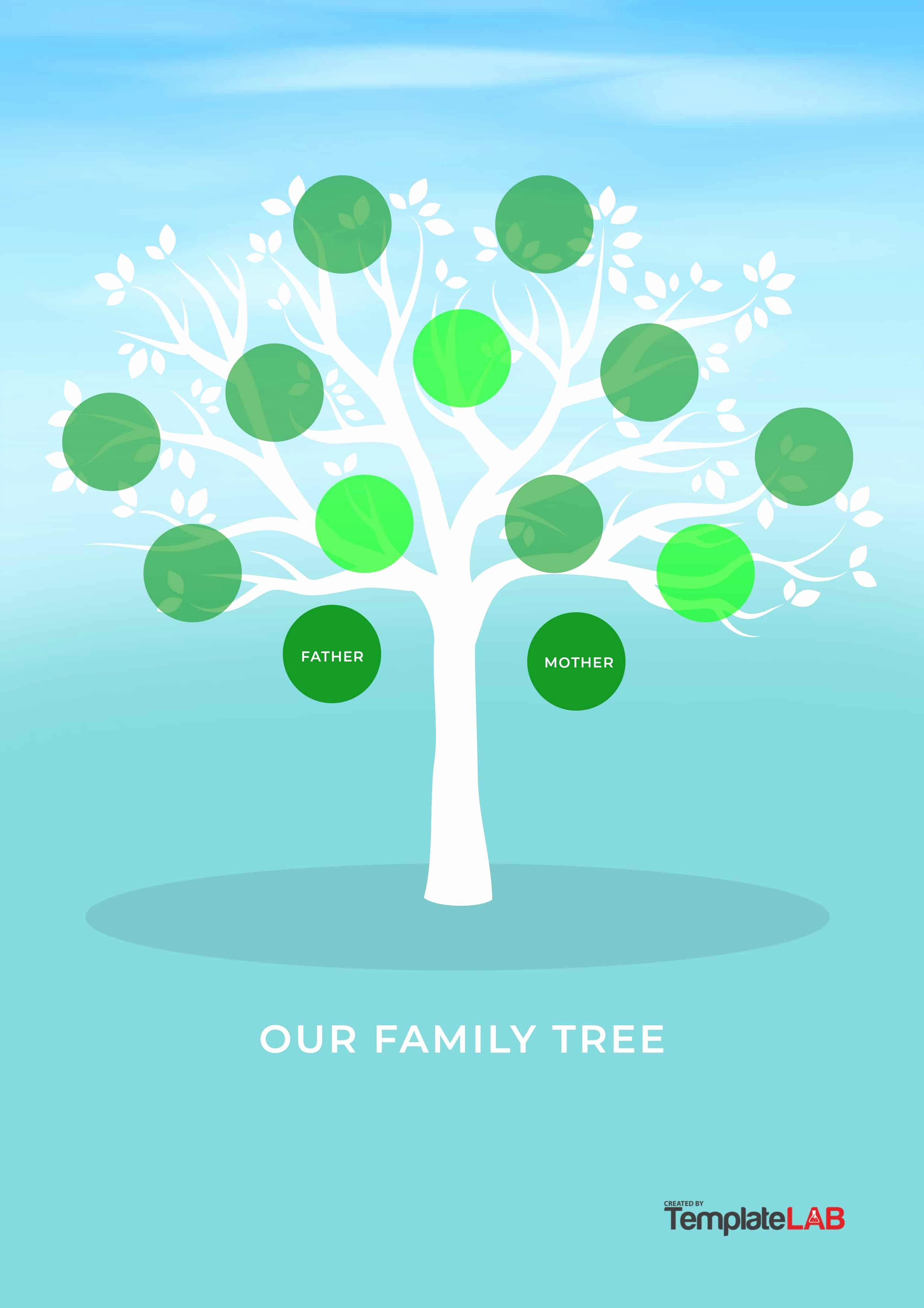 Family Tree with Pictures Template Best Of 50 Free Family Tree Templates Word Excel Pdf