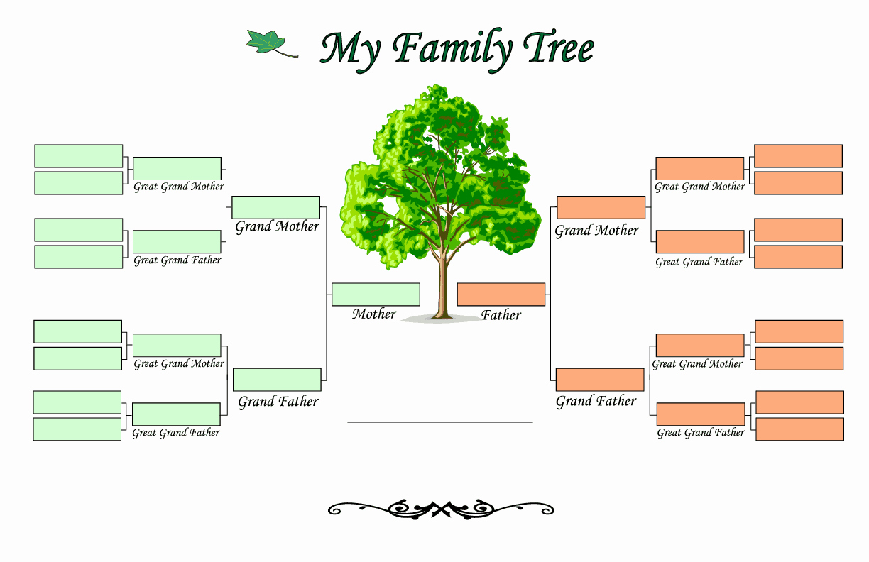 Family Tree with Pictures Template Lovely Family Tree Templates