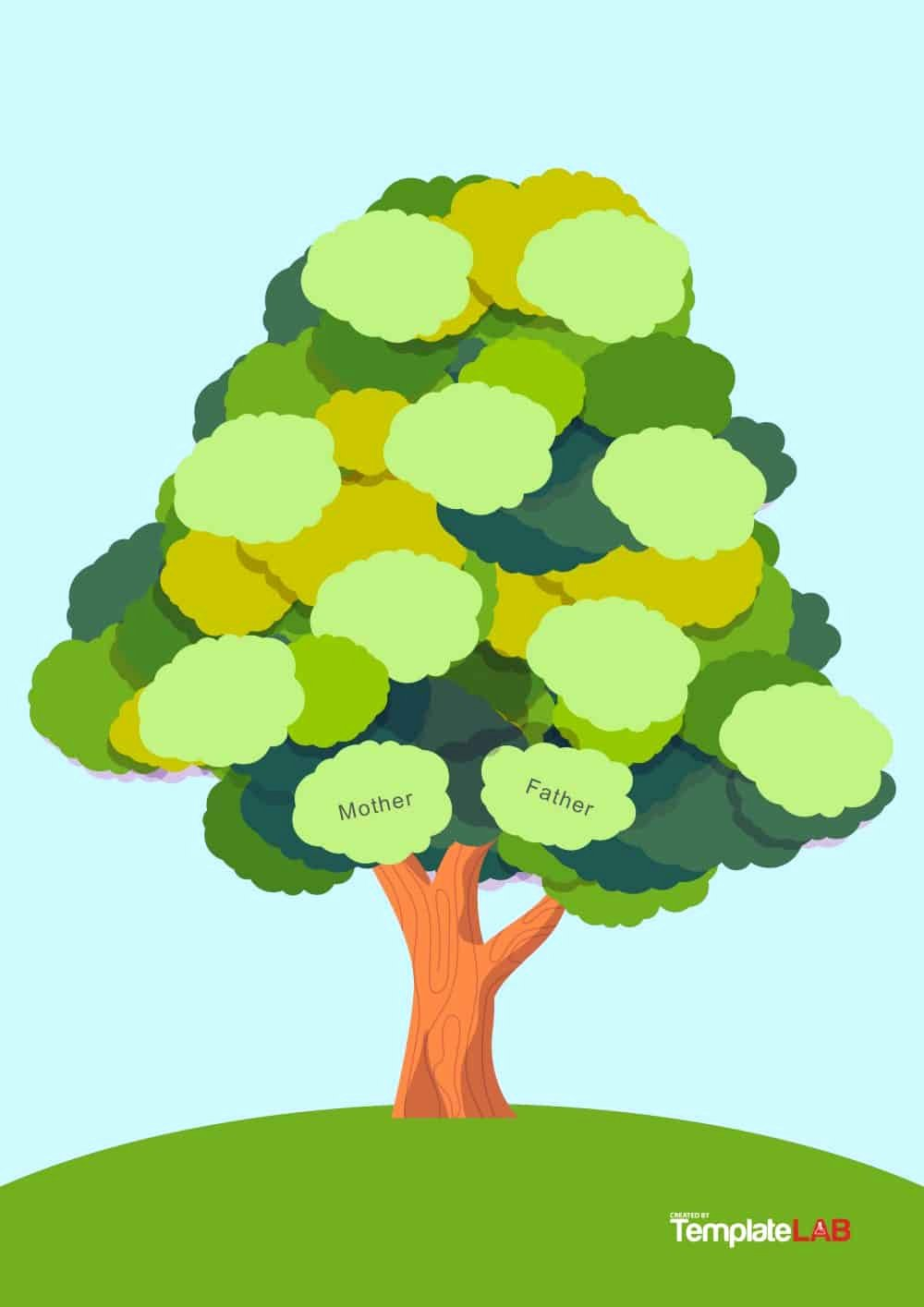 Family Tree with Pictures Template New 50 Free Family Tree Templates Word Excel Pdf