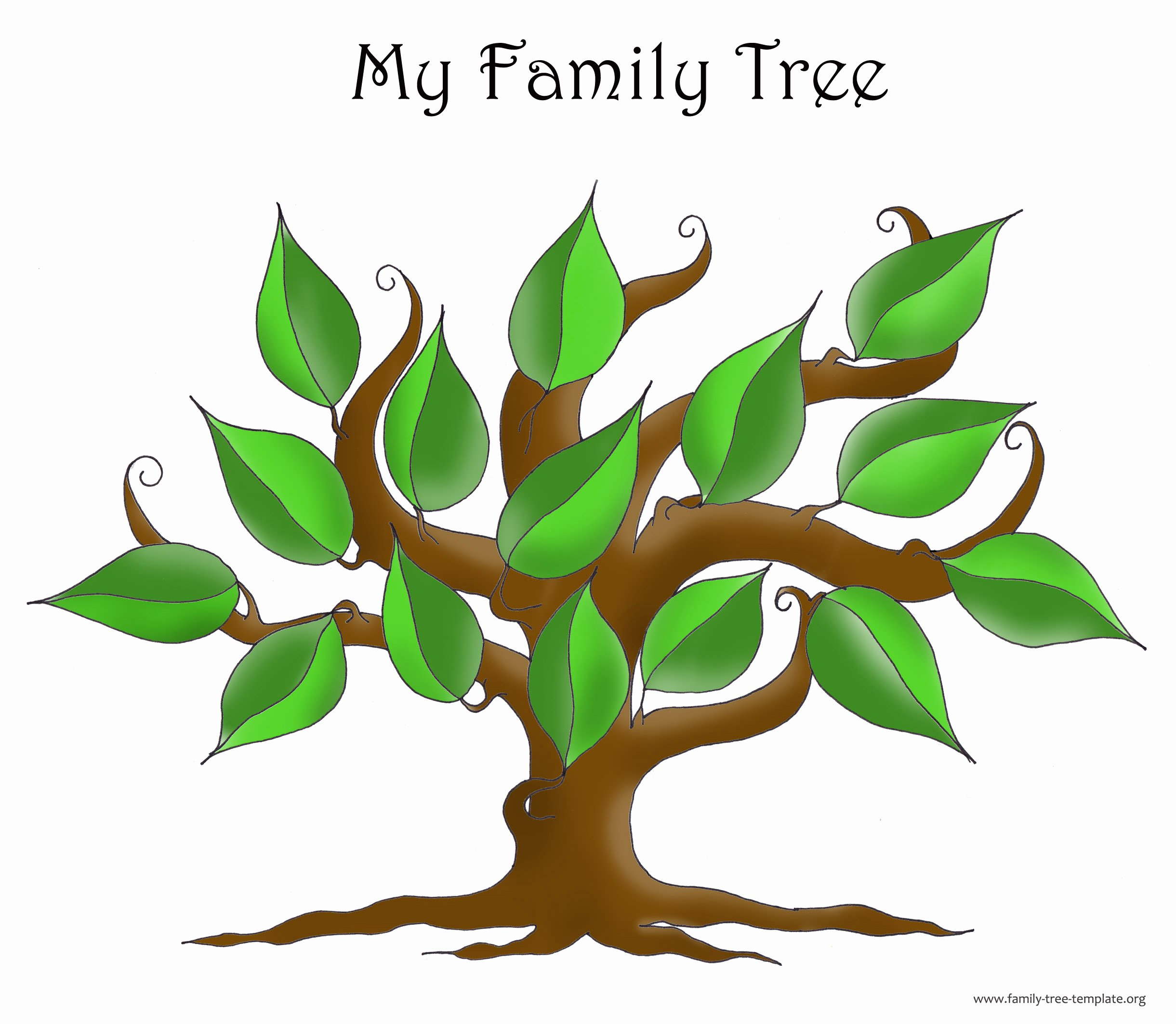 Family Tree with Pictures Template New Family Tree Template Resources