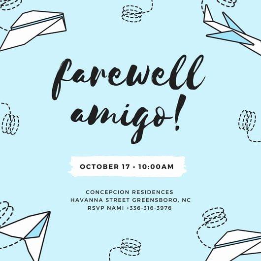 Farewell Invitation Template Free Beautiful Farewell Party Invitation Template Free