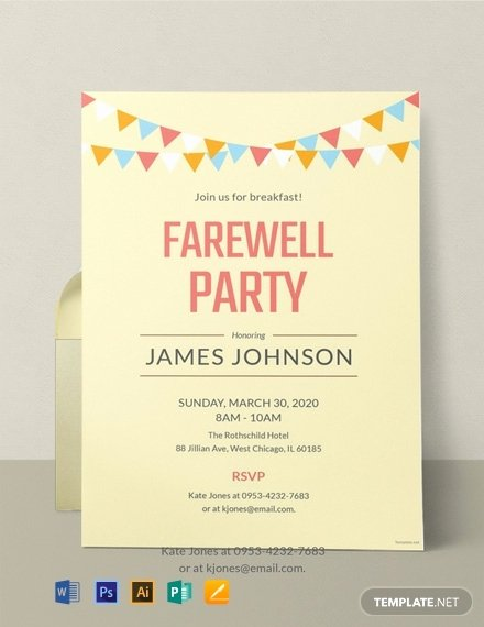 Farewell Invitation Template Free Best Of 10 Free Farewell Invitation Templates Word