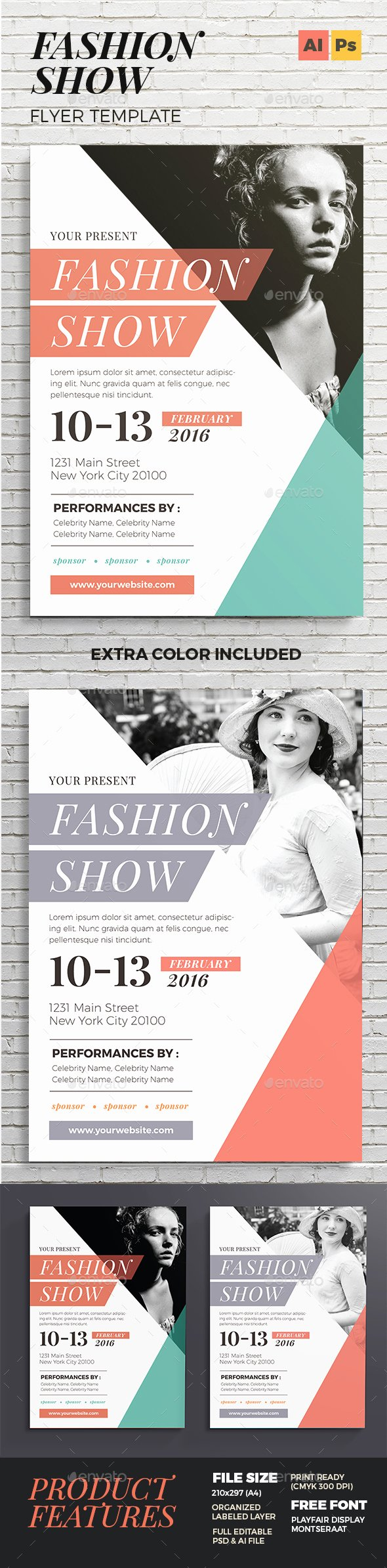 Fashion Show Program Templates Awesome Fashion Show Flyer by Vynetta