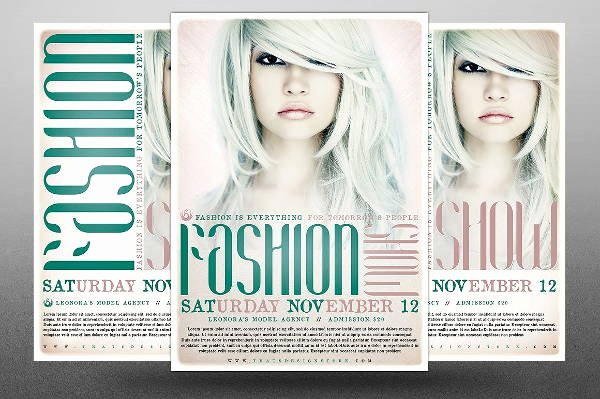 Fashion Show Program Templates Beautiful 16 Fashion Show Flyer Templates In Word Psd Ai Eps