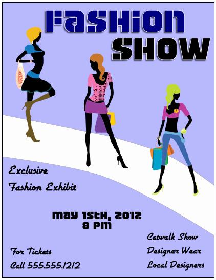 Fashion Show Program Templates Best Of Flyer Tutor Graphic Design Blog Crop In Inkscape