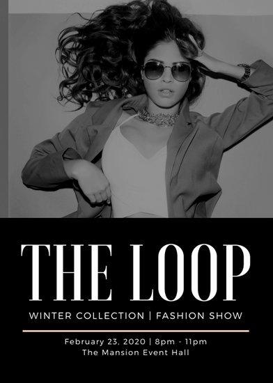 Fashion Show Program Templates Fresh Customize 127 Talent Show Flyer Templates Online Canva