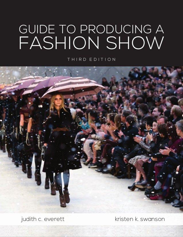Fashion Show Program Templates Fresh Fashion Show Production