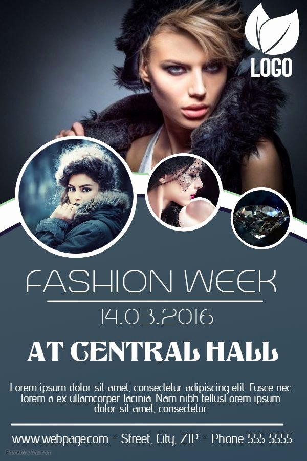 Fashion Show Program Templates Inspirational 55 Best event Flyer Templates Images On Pinterest