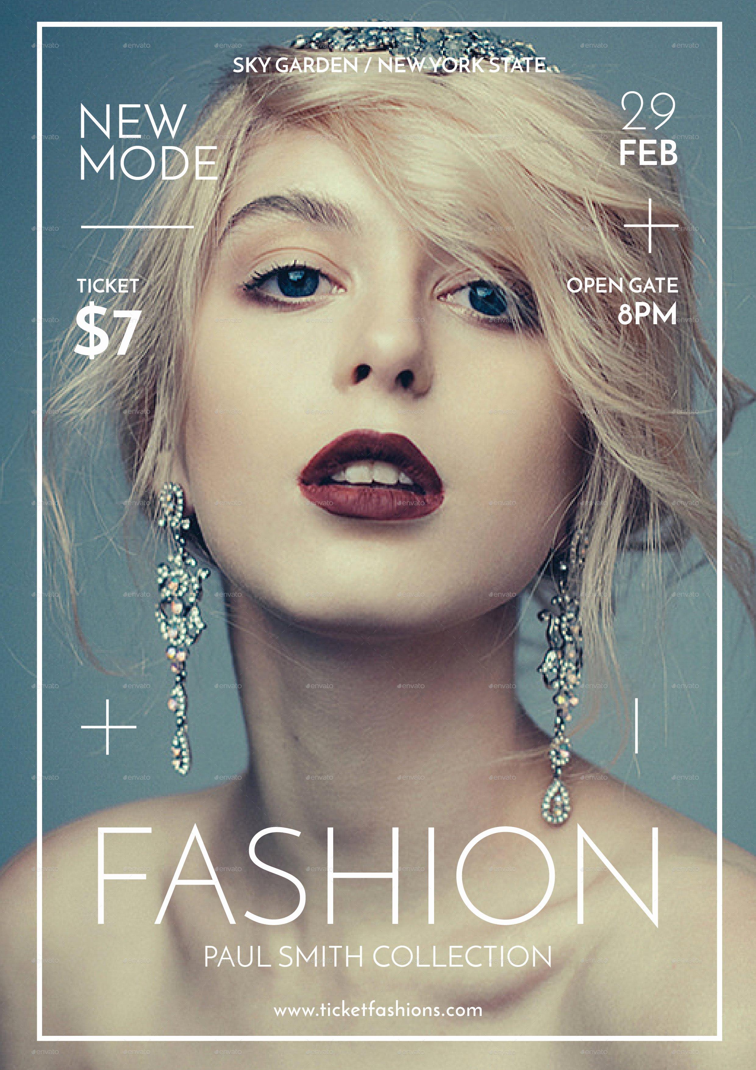 Fashion Show Program Templates Lovely Fashion Show Flyer by tokosatsu