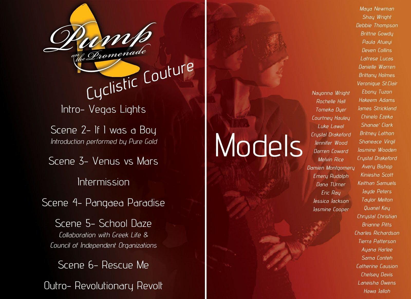 Fashion Show Program Templates Luxury Fashion Show Program Example