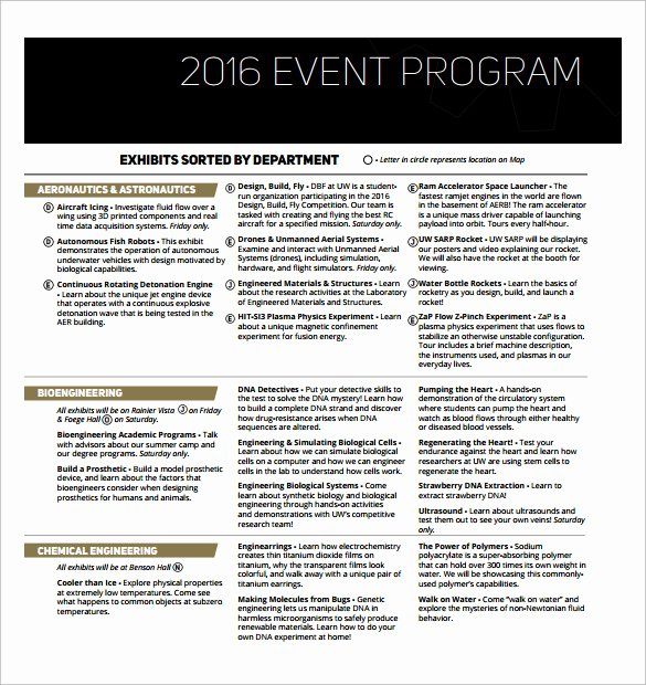 Fashion Show Programme Template Awesome Sample event Program Template 17 Free Documents In Pdf