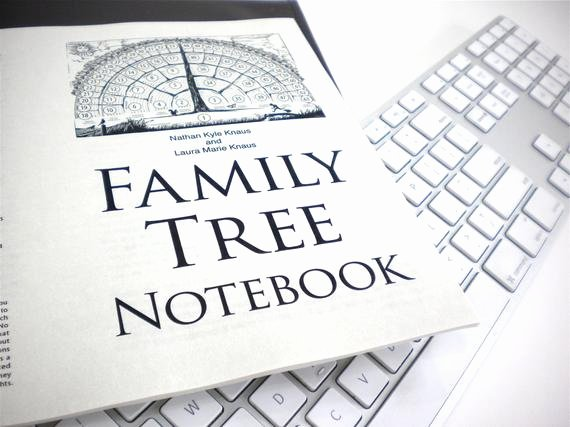 Fillable Family Tree Template Elegant Family Tree Notebook Ebook Pdf Fill In Blank Template Ts