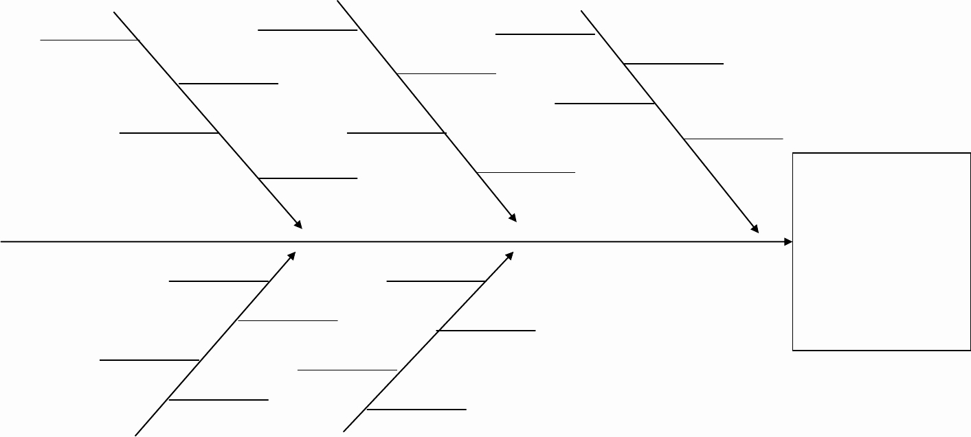 Fishbone Diagram Template Word Awesome Fishbone Diagram In Word and Pdf formats