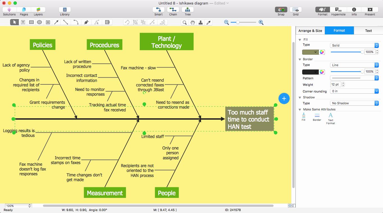 Fishbone Diagram Template Word New Add A Fishbone Diagram to Ms Word